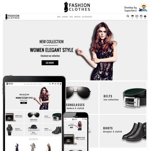 Fashion Clothes Store