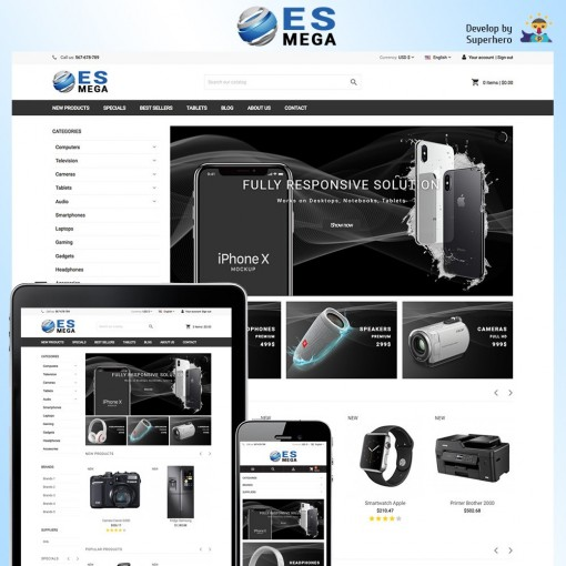 Mega Electronic Store
