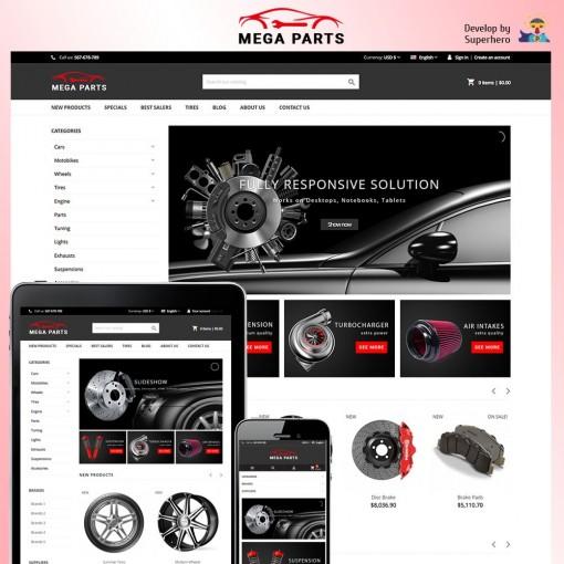 Mega Parts Store
